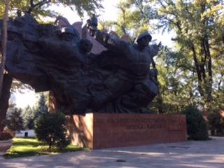 Almaty - Monument