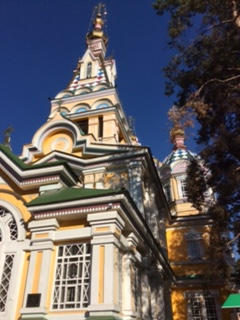 Almaty - Wooden Church