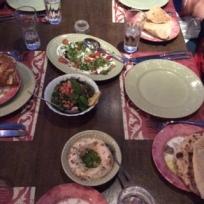 Traditional Jordanian Meal