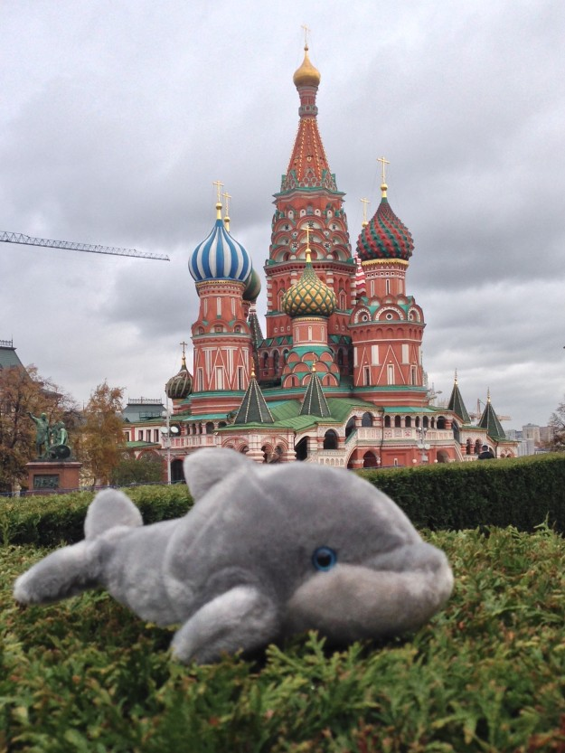 Dosphie & St. Basil's Cathedral